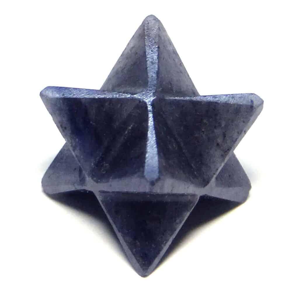 Blue Aventurine Merkaba Stars