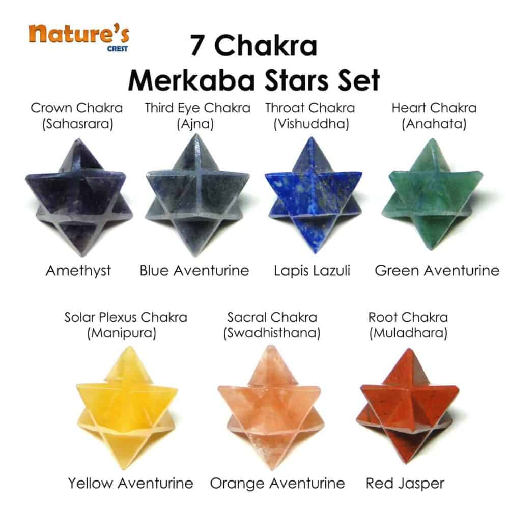Chakra Merkaba Set