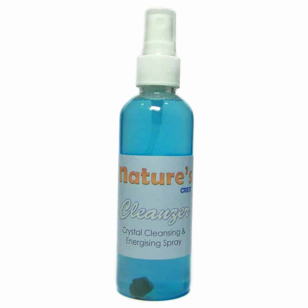 Cleanzer Black Tourmaline Infused Crystal Cleansing & Energizing Spray Nature's Crest CLZ100 ₹399.00