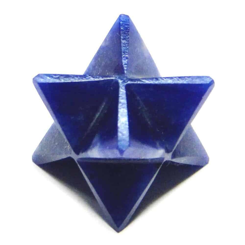 Sodalite Merkaba Stars