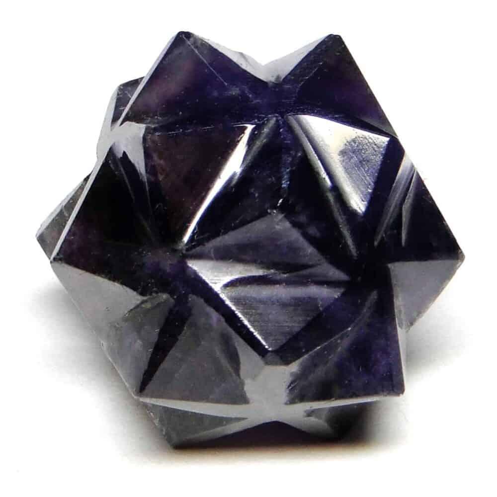 Amethyst 20 Point Merkaba Star Nature's Crest MS20002 ₹449.00