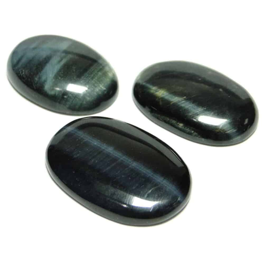 Black Tiger Eye Oval Cabochon Nature's Crest CO0024 ₹ 399.00