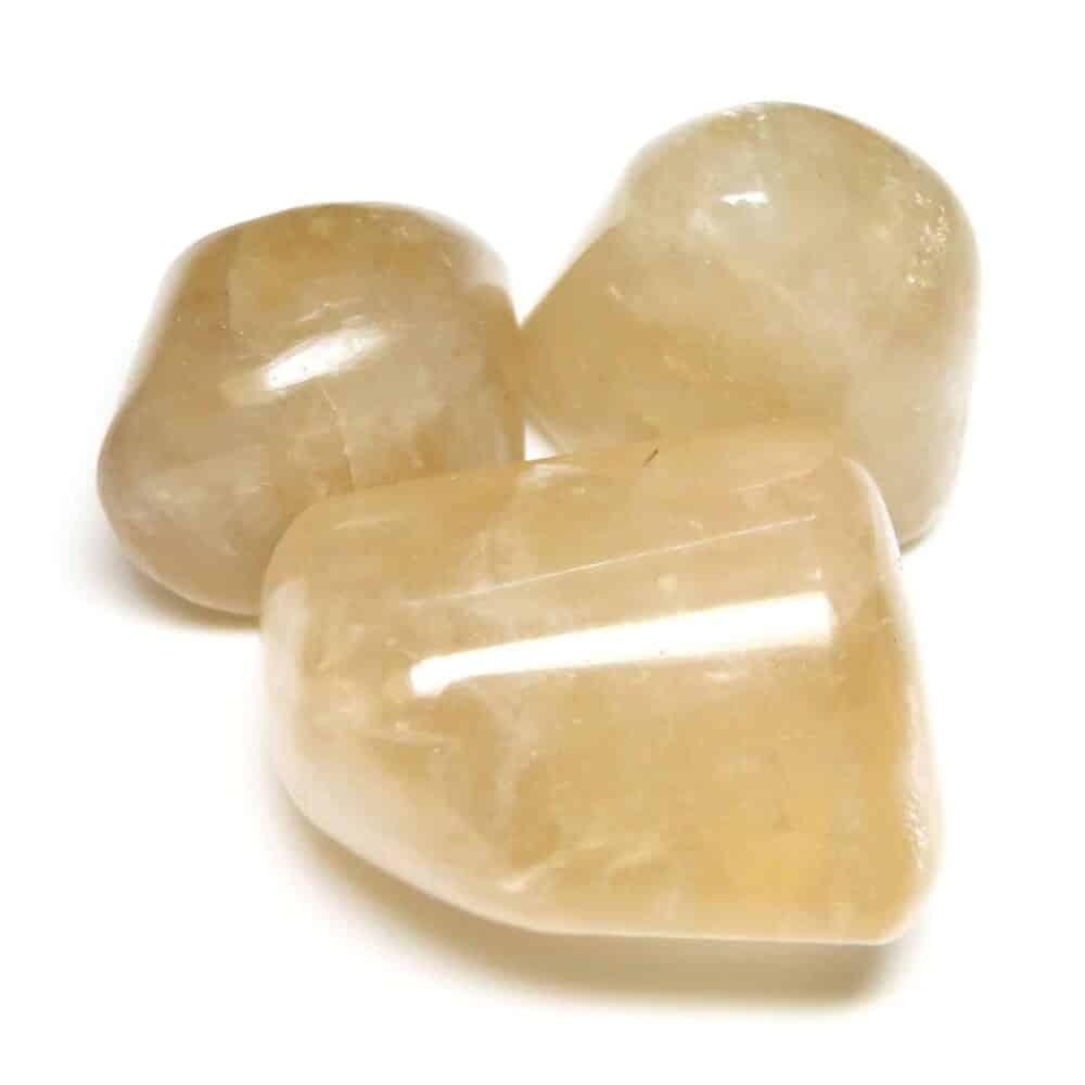 Citrine Tumbled Pebble Stones Nature's Crest TS004 ₹249.00