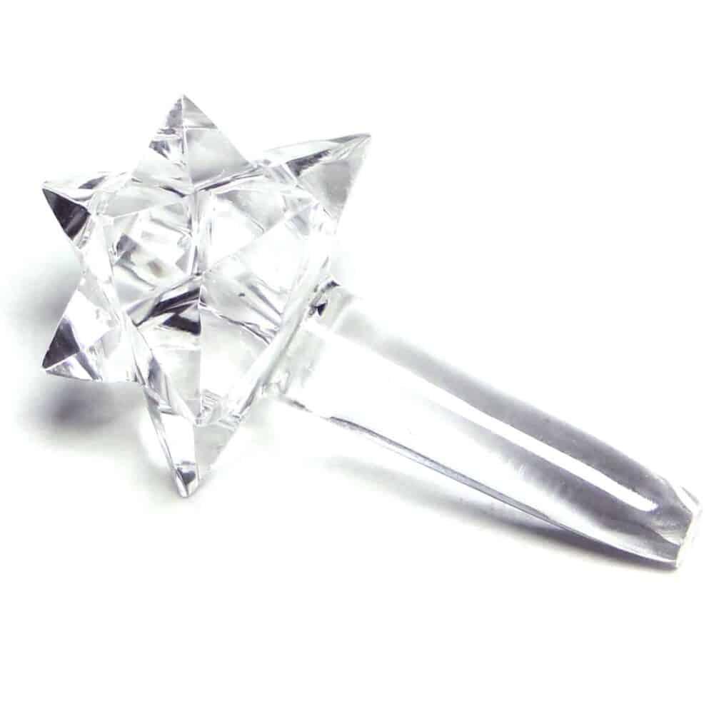 Crystal Quartz (Sphatik) Transcendental Merkaba Comet Star Nature's Crest MSCS003 ₹799.00