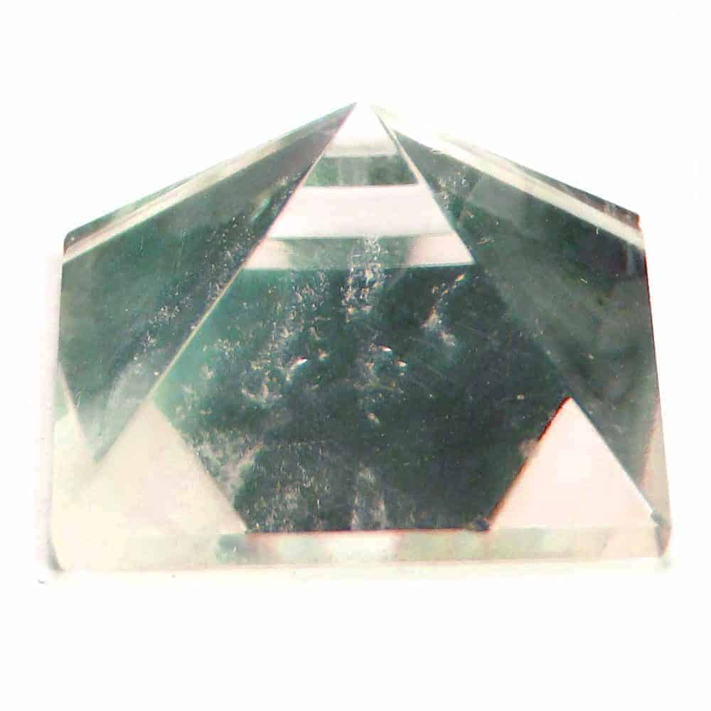 Crystal Quartz (Sphatik) Pyramid Clear Nature's Crest PY0014 ₹ 249.00