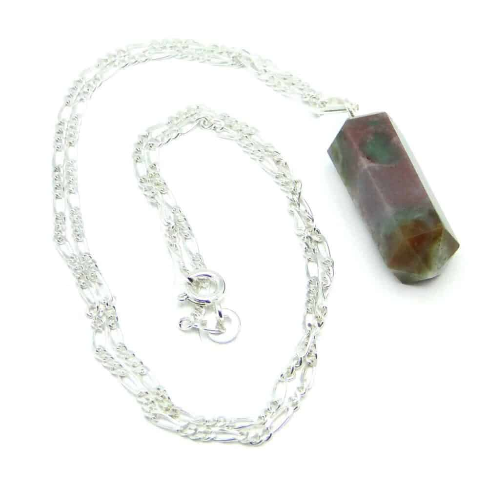 Fancy Jasper Pencil Pendant Nature's Crest PP007 ₹ 249.00