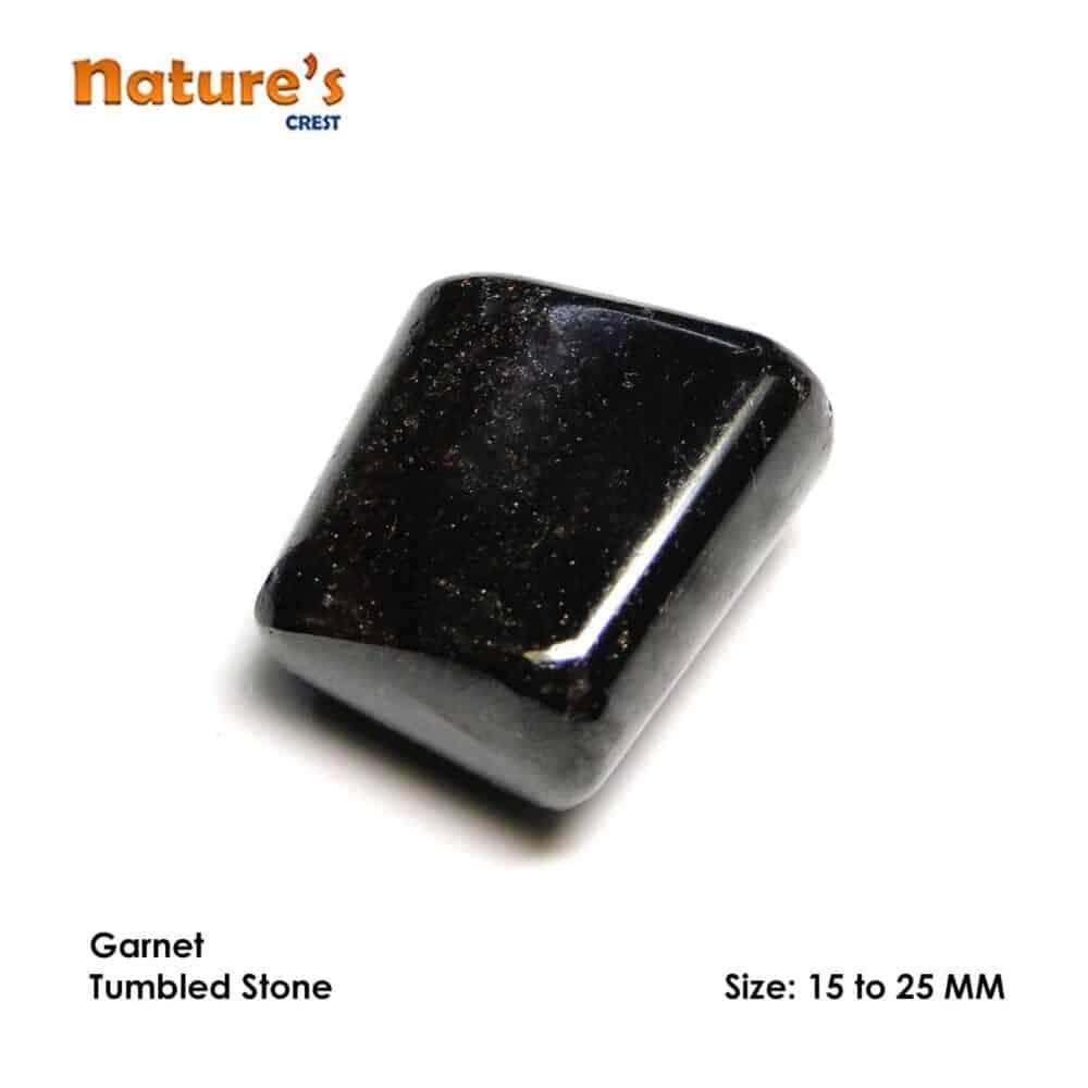 Garnet Tumbled Pebble Stones Nature's Crest TS007 ₹199.00