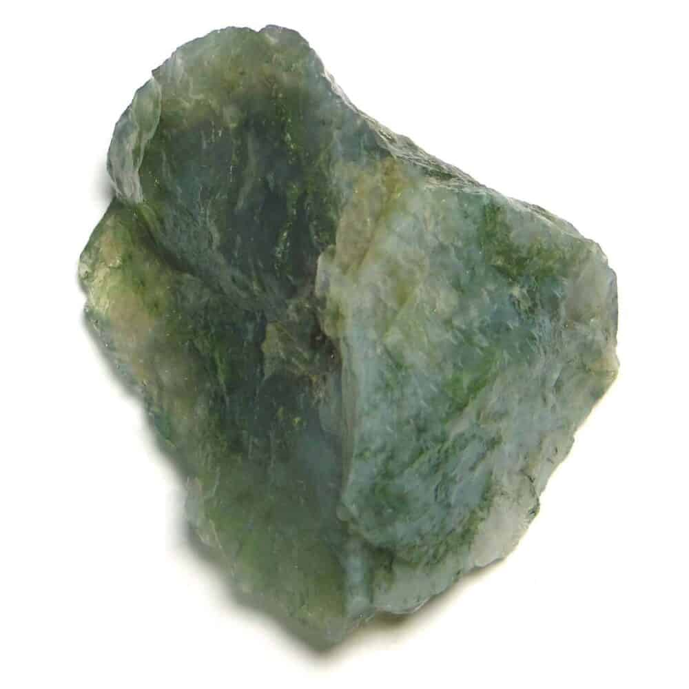 Green Moss Agate Natural Raw Rough Chunks Nature's Crest RC015 ₹249.00