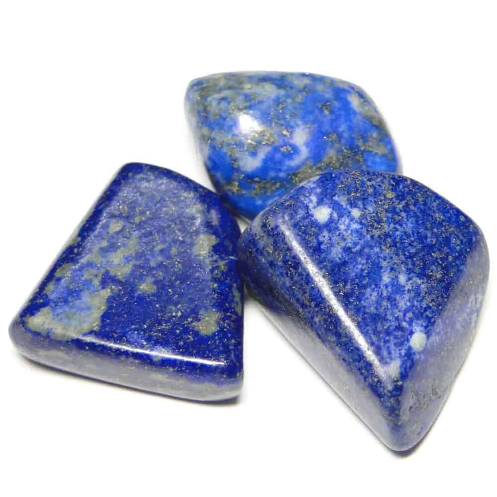 Lapis Lazuli Tumbled Pebble Stones Nature's Crest TS011 ₹249.00