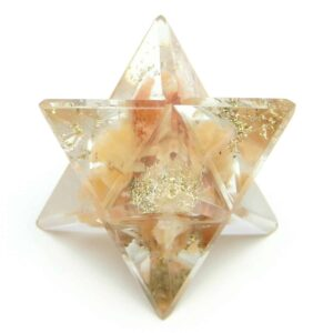 Orange Aventurine Orgone Merkaba