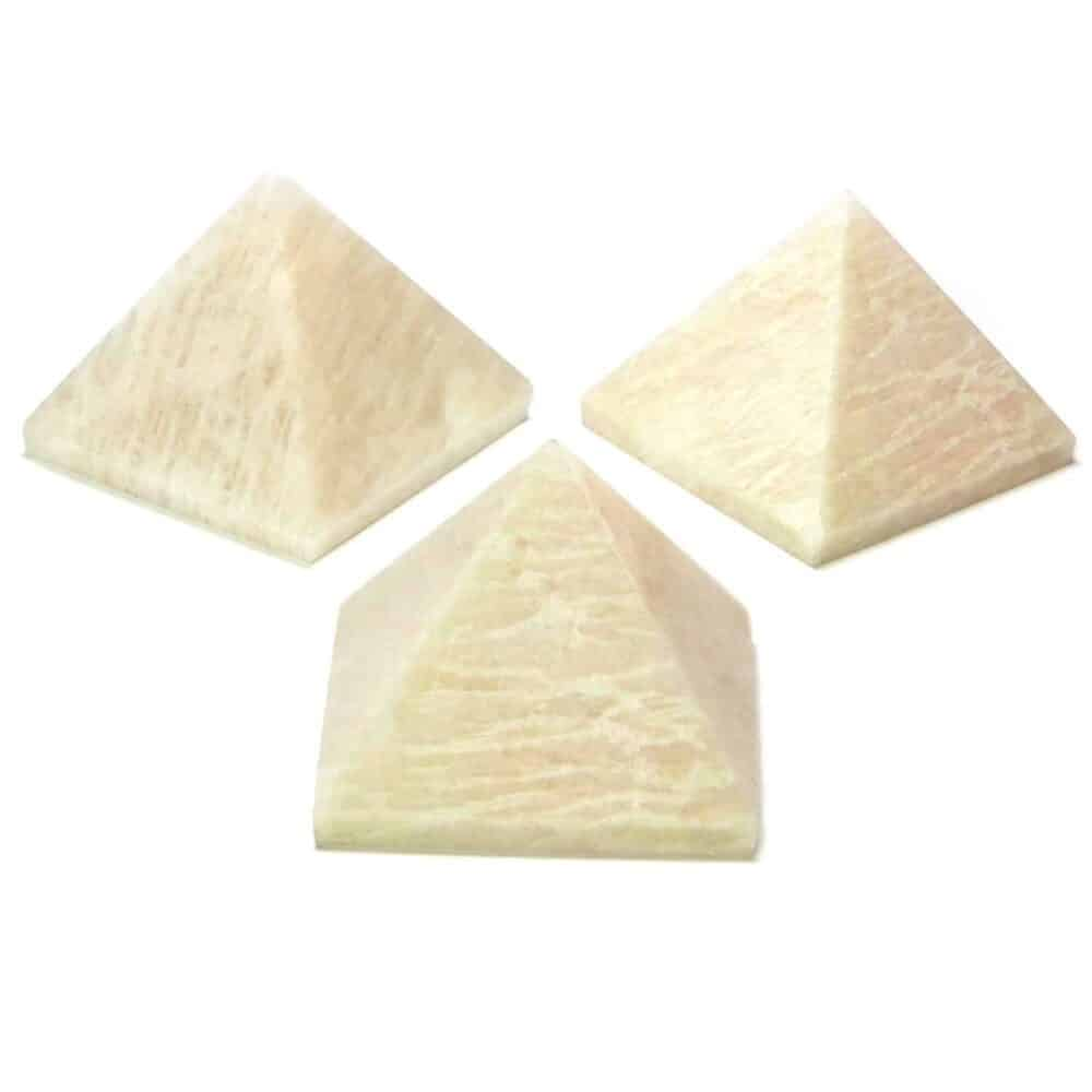 Peach Moonstone Pyramid Nature's Crest PY0010 ₹ 249.00
