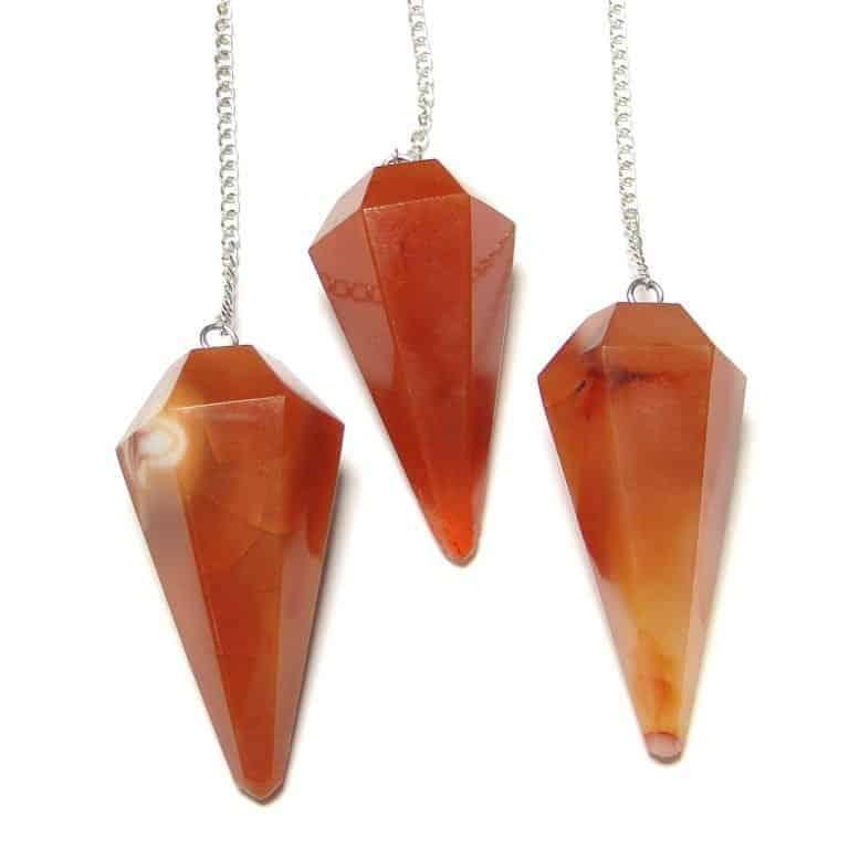 Red Carnelian Pendulum Multiple