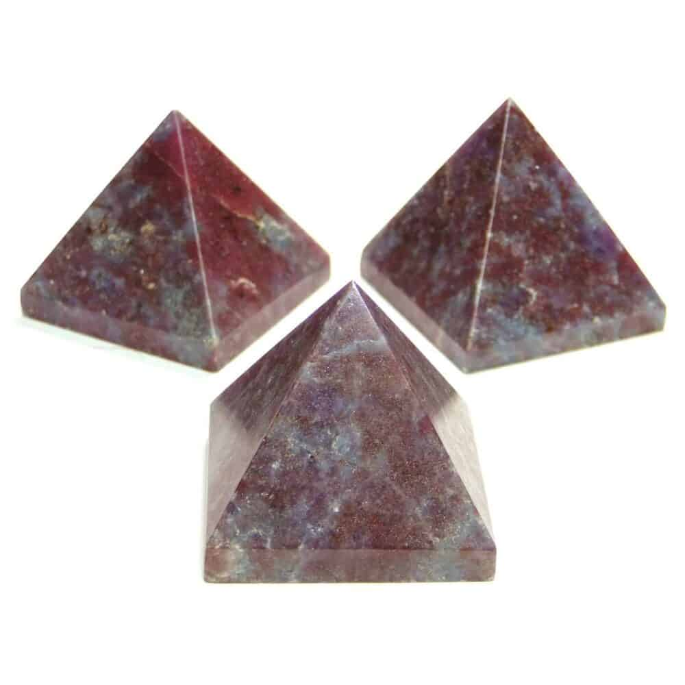 Ruby Kyanite (Manek / Manik) Pyramid Nature's Crest PY0012 ₹499.00