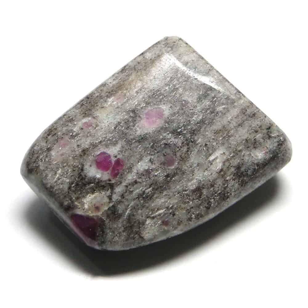 Ruby in Matrix (Manek / Manik) Tumbled Pebble Stones Nature's Crest TS015 ₹299.00