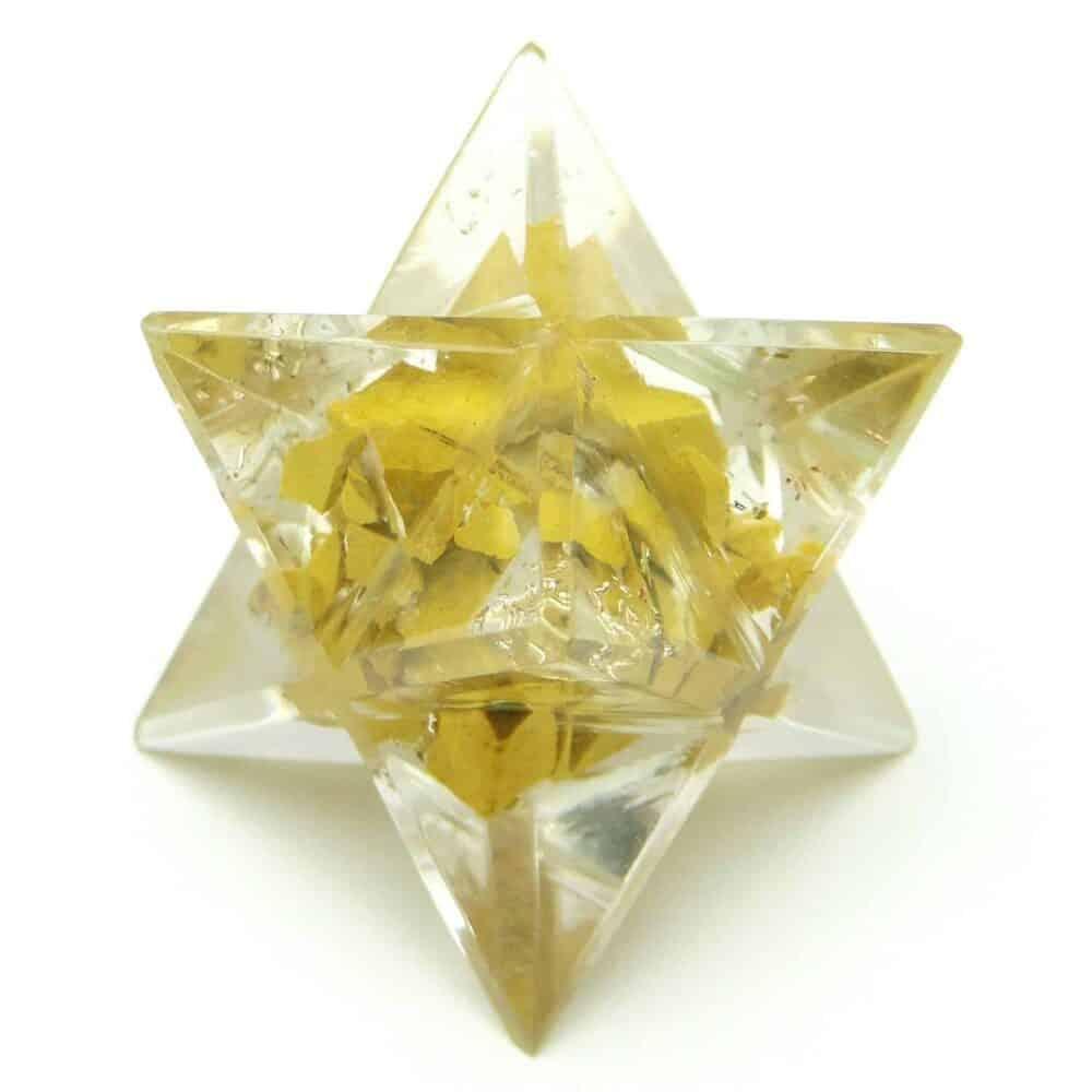 Yellow Aventurine Orgone Merkaba