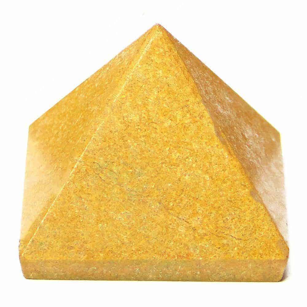 Yellow Jasper Pyramid Nature's Crest PY0009 ₹249.00