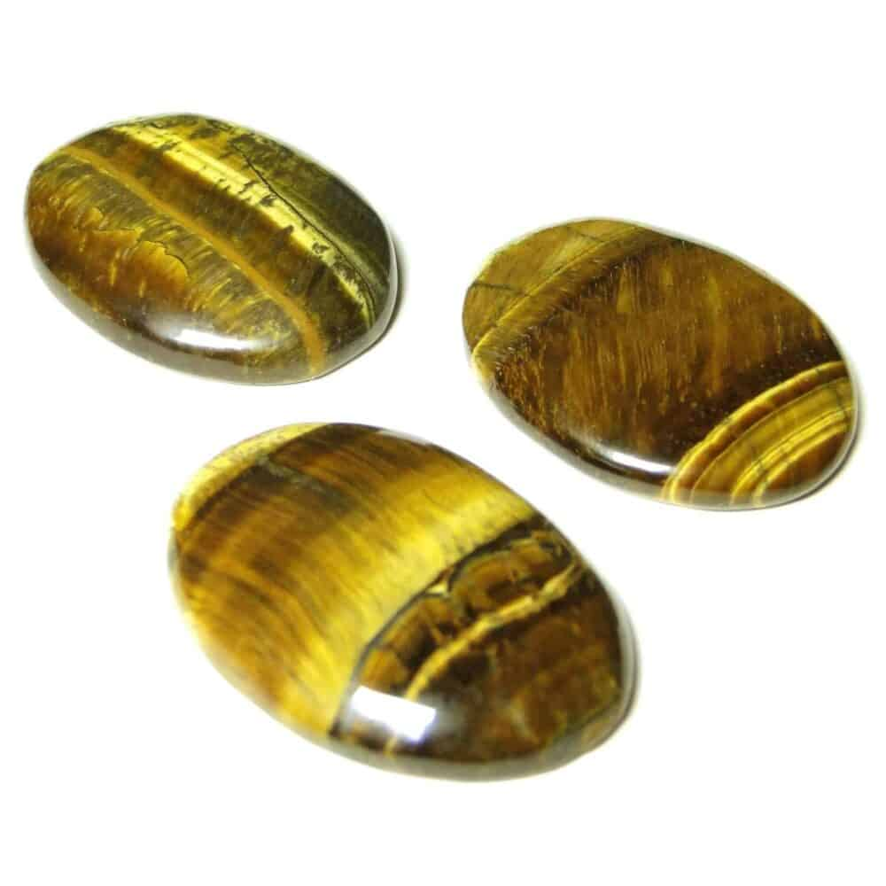 Tiger Eye Yellow Oval Cabochon Nature's Crest CO0021 ₹299.00