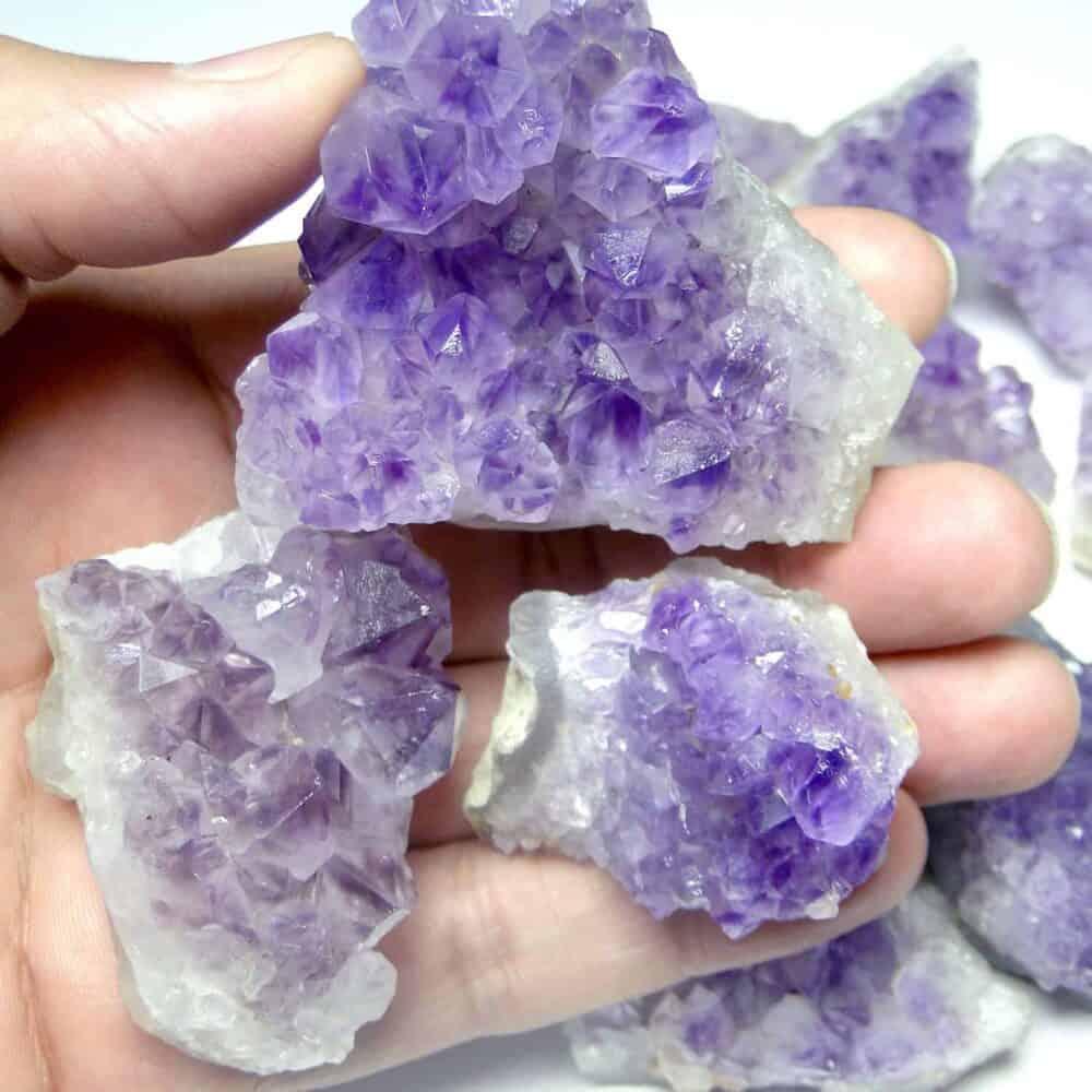 Amethyst Natural Cluster Nature's Crest SP001 ₹749.00