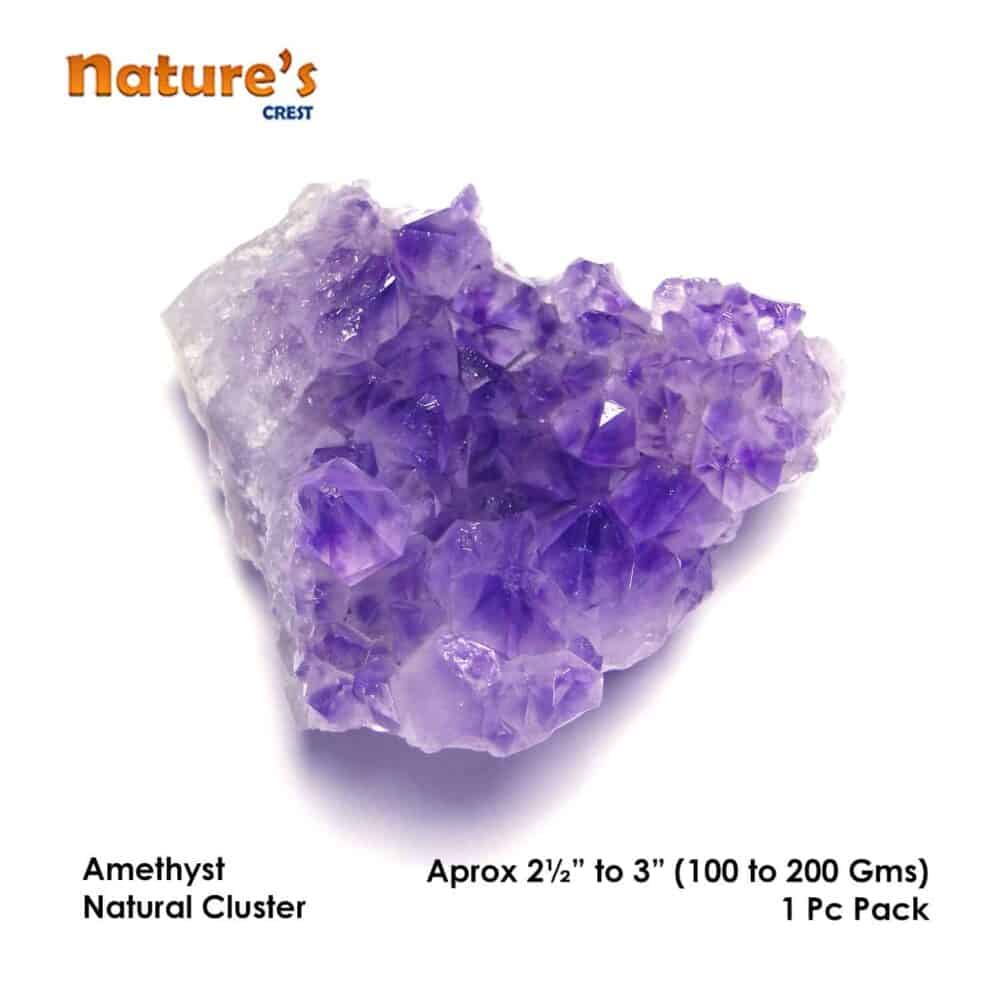 Amethyst Natural Cluster Nature's Crest SP001 ₹ 749.00