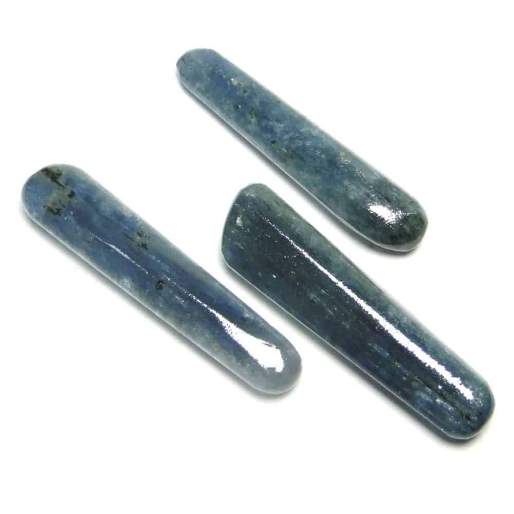 Blue Kyanite Healing Wand Massage Stick Nature's Crest MS019 ₹ 349.00