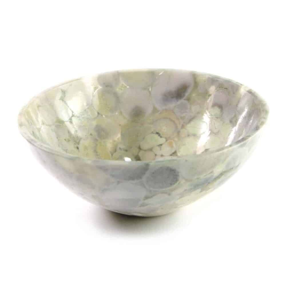 "Spotted Agate Gemstone Bowl 3"" Nature's Crest BO006 ₹ 1,499.00"