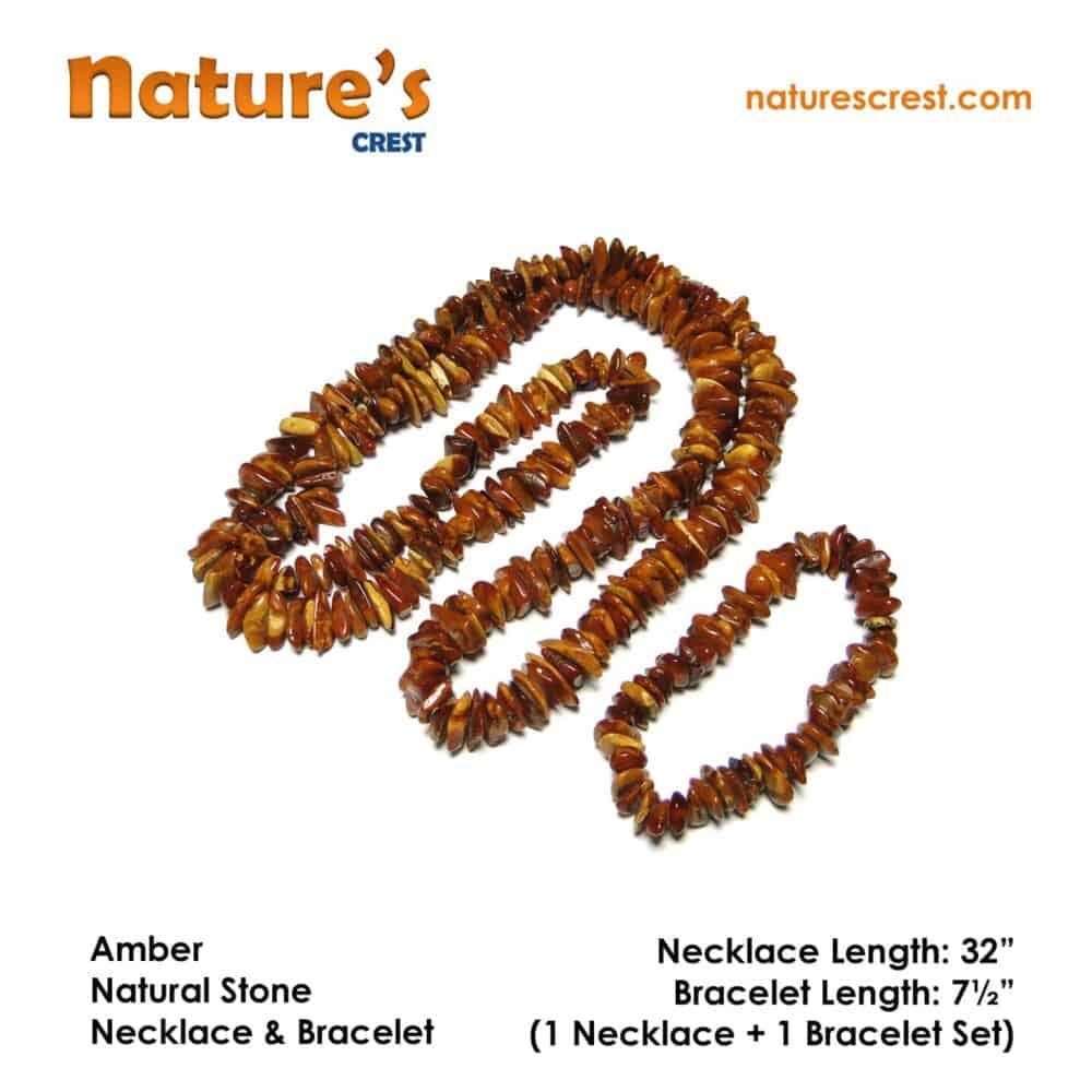 Amber Chip Beads Nature's Crest TC002 ₹1,249.00