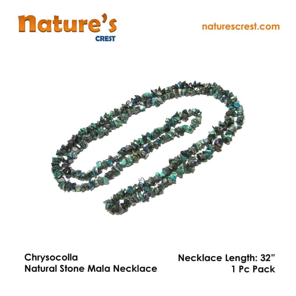 Chrysocolla Chip Beads Nature's Crest TC011 ₹ 399.00