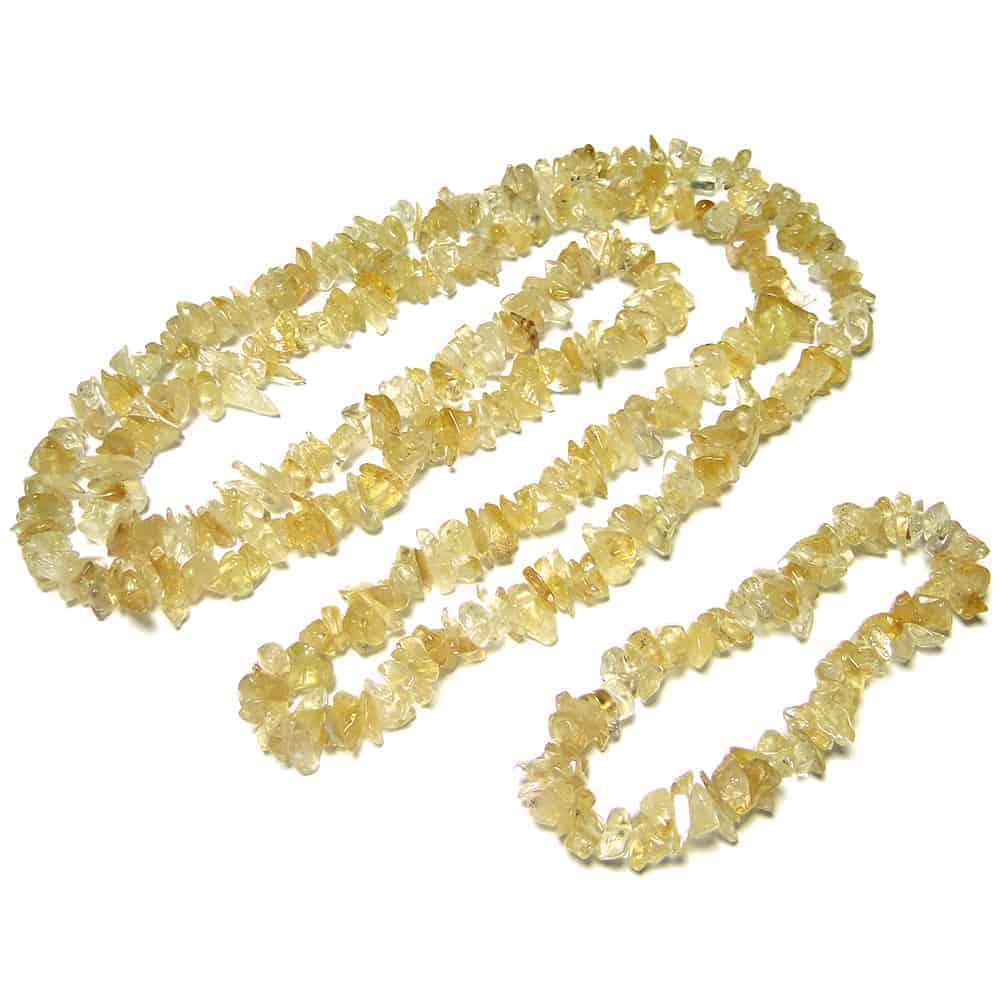 Citrine Chip Beads Nature's Crest TC012 ₹249.00