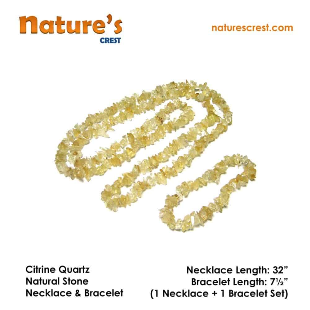 Citrine Chip Beads Nature's Crest TC012 ₹ 249.00