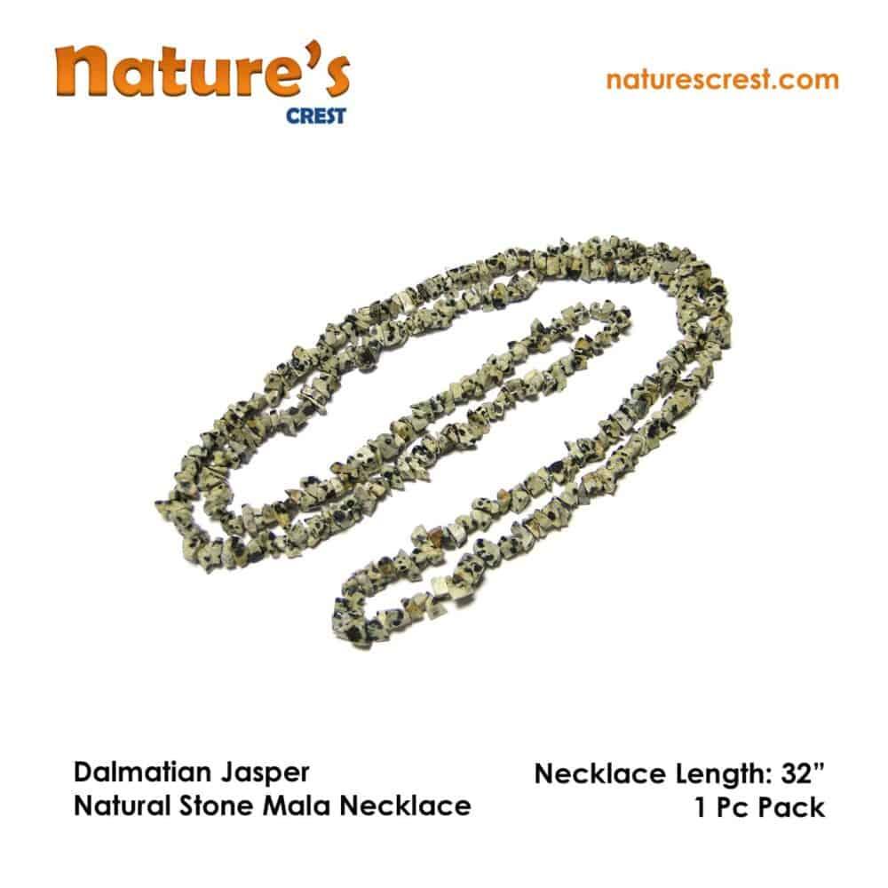 Dalmatian Jasper Chip Beads Nature's Crest TC014 ₹249.00