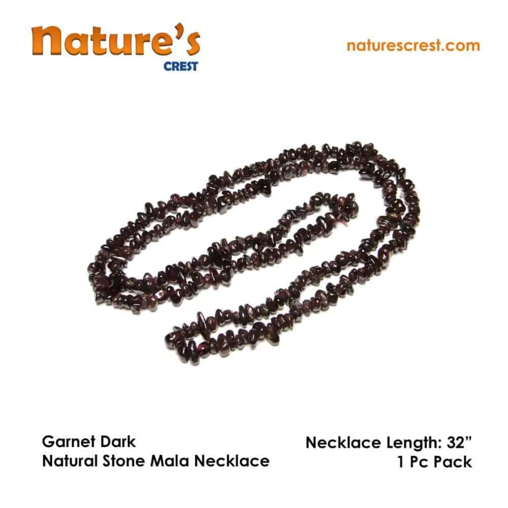 Garnet Dark Chip Beads Nature's Crest TC016 ₹249.00