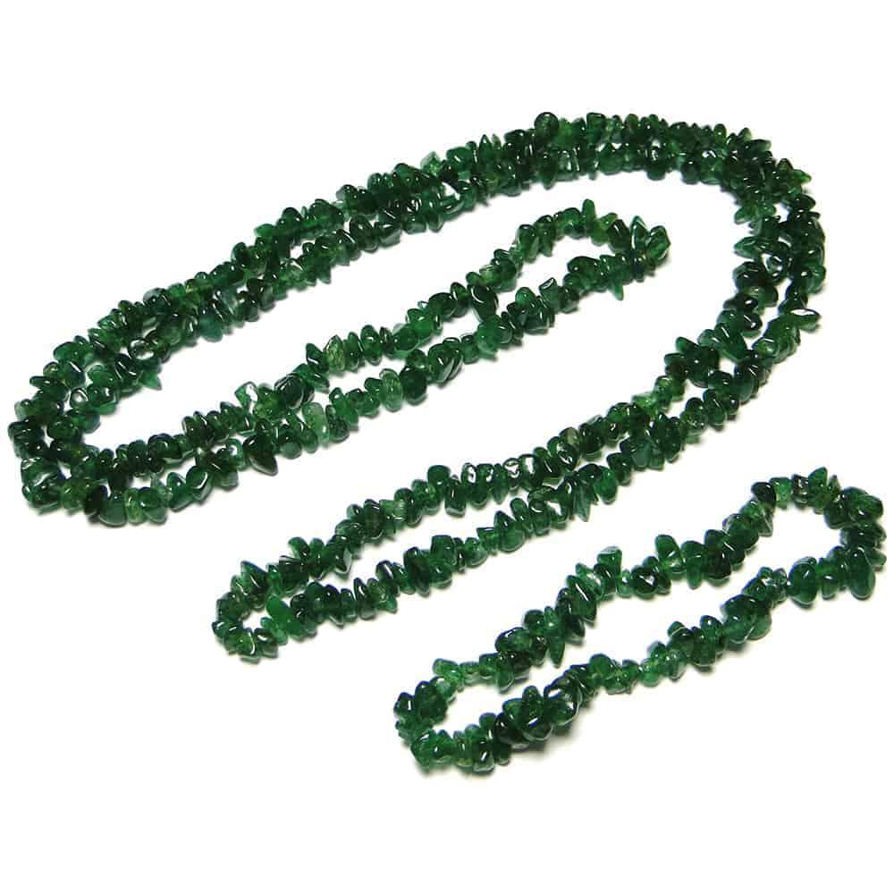 Green Aventurine Dark Chip Beads Nature's Crest TC019 ₹249.00