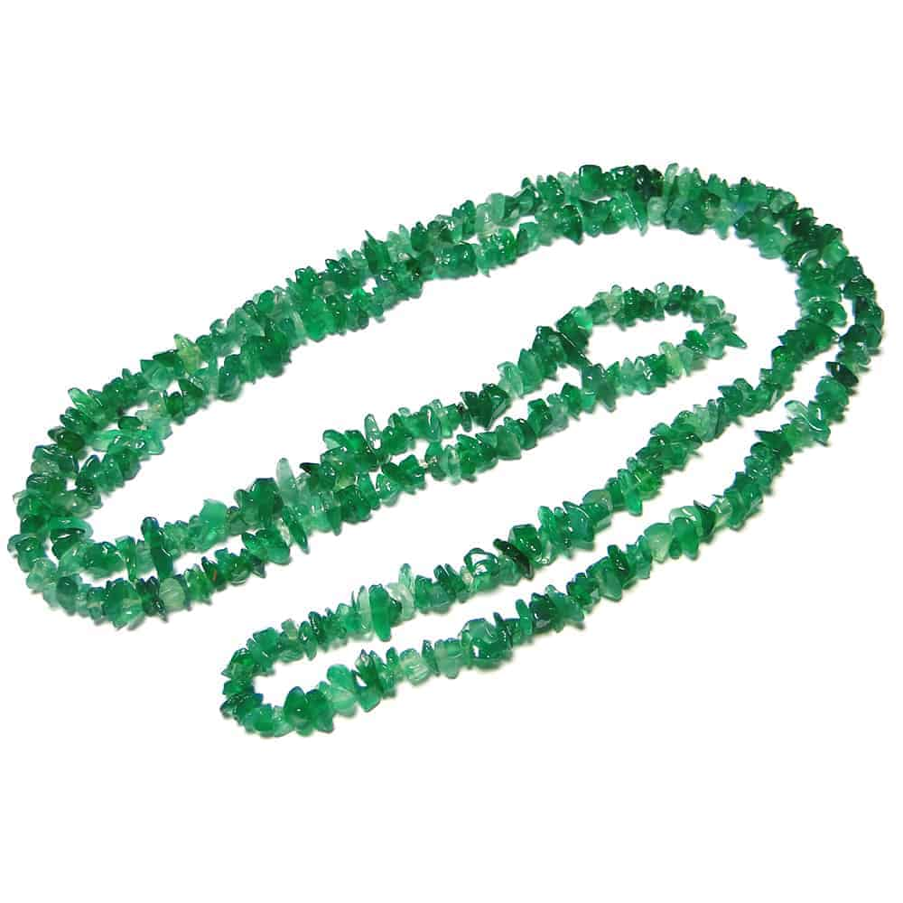 Green Onyx Chip Beads Nature's Crest TC022 ₹249.00