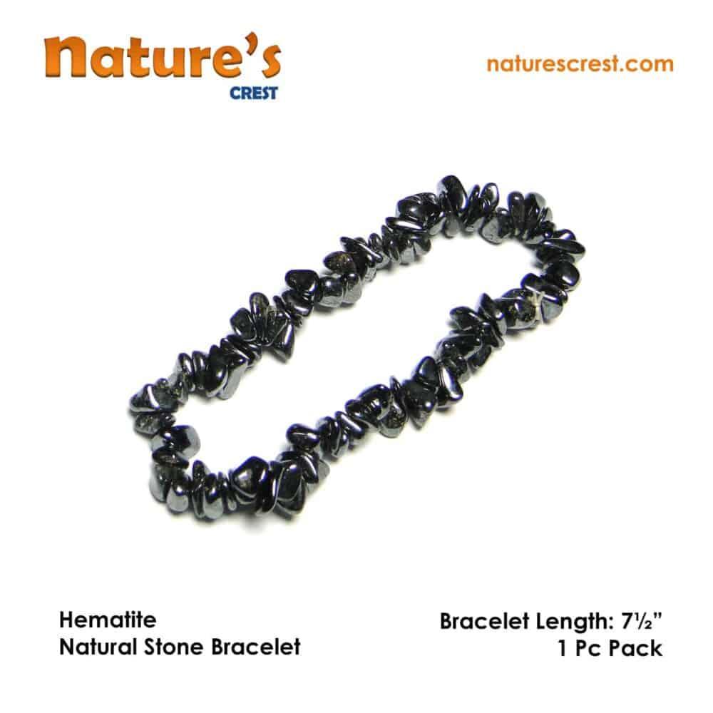 Hematite Chip Beads Nature's Crest TC024 ₹249.00
