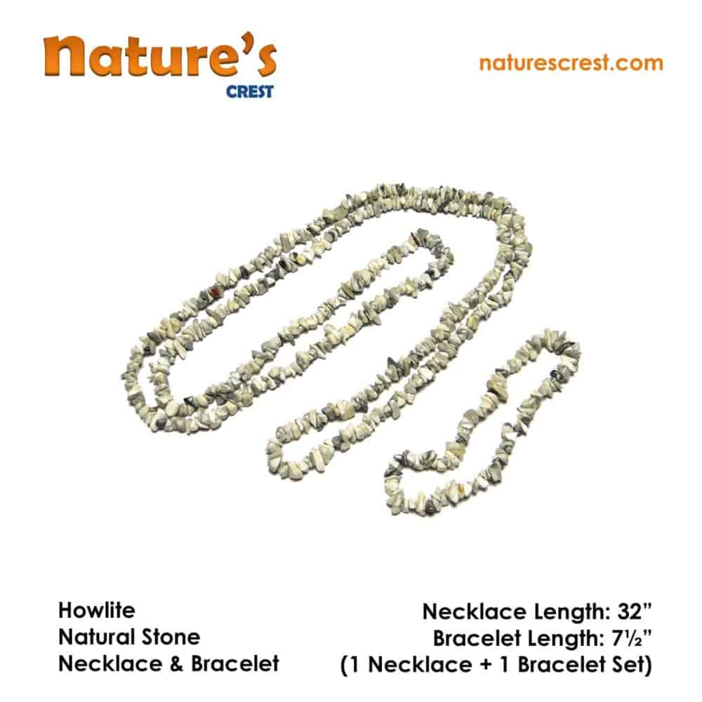 Howlite Chip Beads Nature's Crest TC026 ₹ 249.00