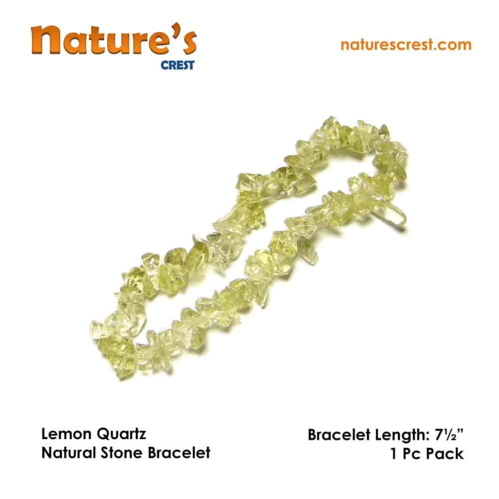 Lemon Quartz Chip Beads Nature's Crest TC031 ₹299.00