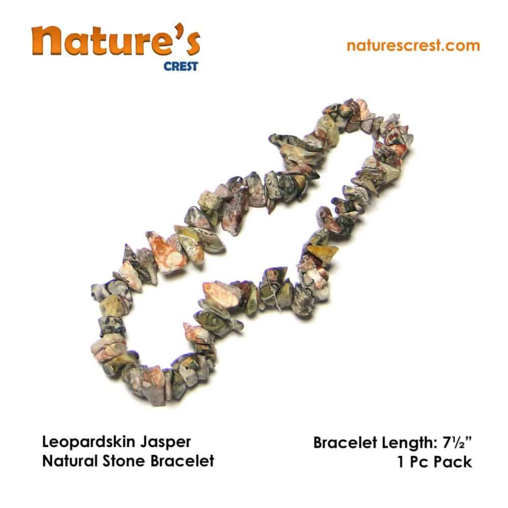 Leopardskin Jasper Chip Beads Nature's Crest TC032 ₹249.00