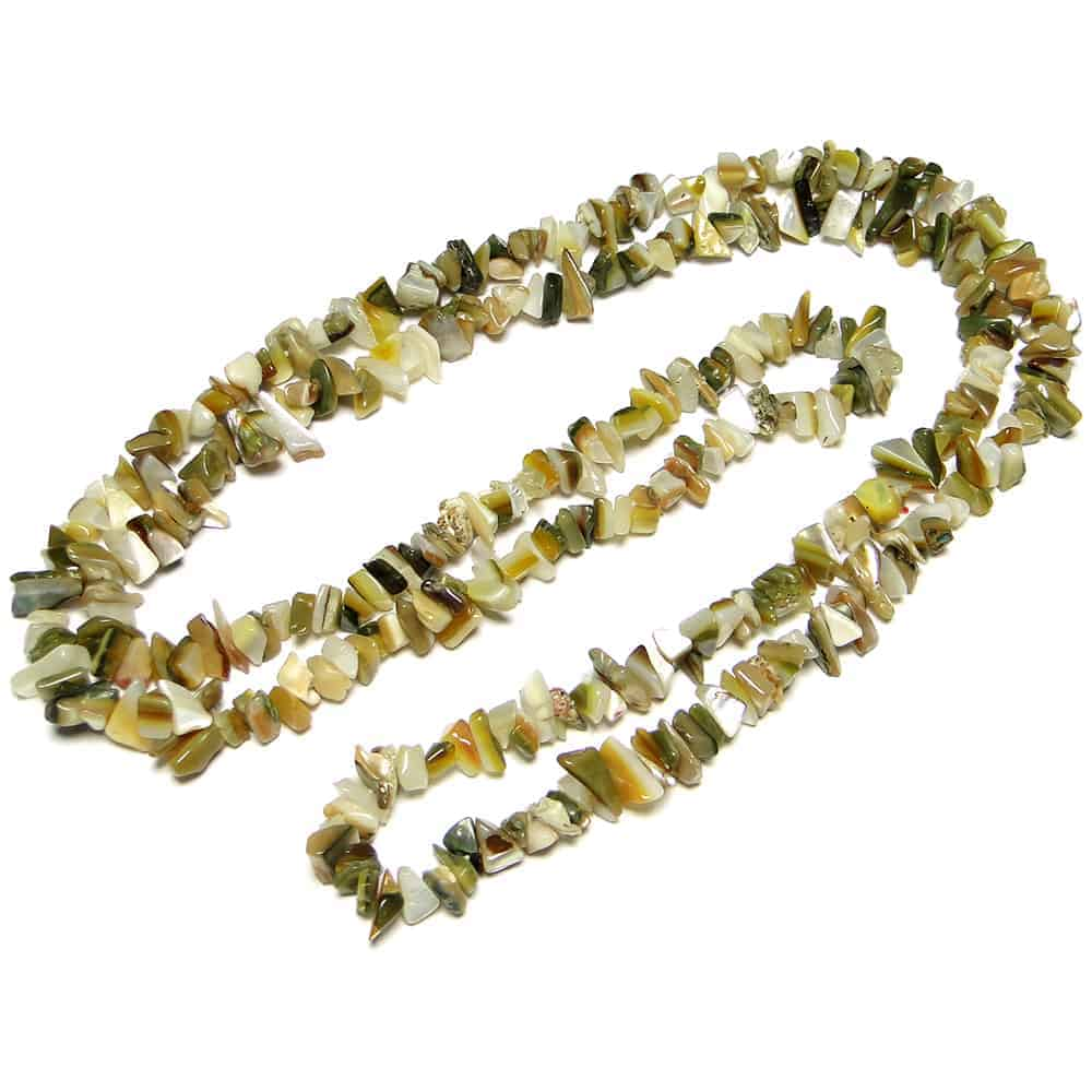 MOP (Mother of Pearl) Chip Beads Nature's Crest TC033 ₹299.00