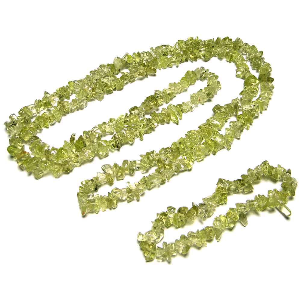 Peridot Chip Beads Nature's Crest TC035 ₹249.00