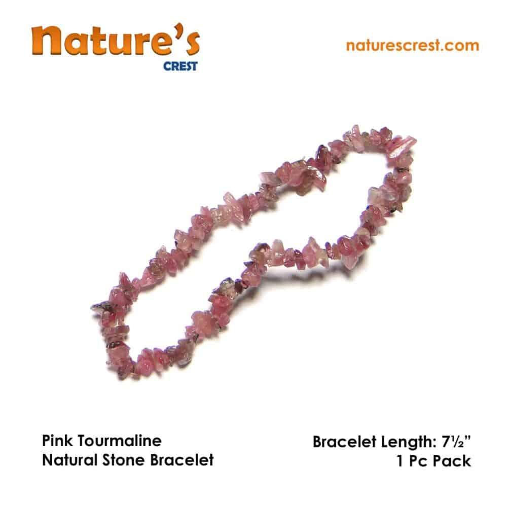 Pink Tourmaline Chip Beads Nature's Crest TC037 ₹899.00