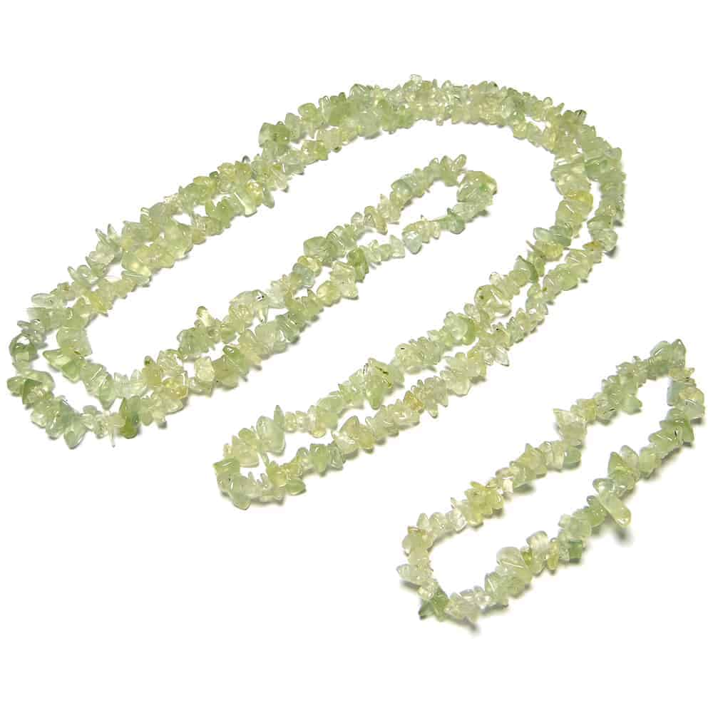 Prehnite Chip Beads Nature's Crest TC038 ₹299.00