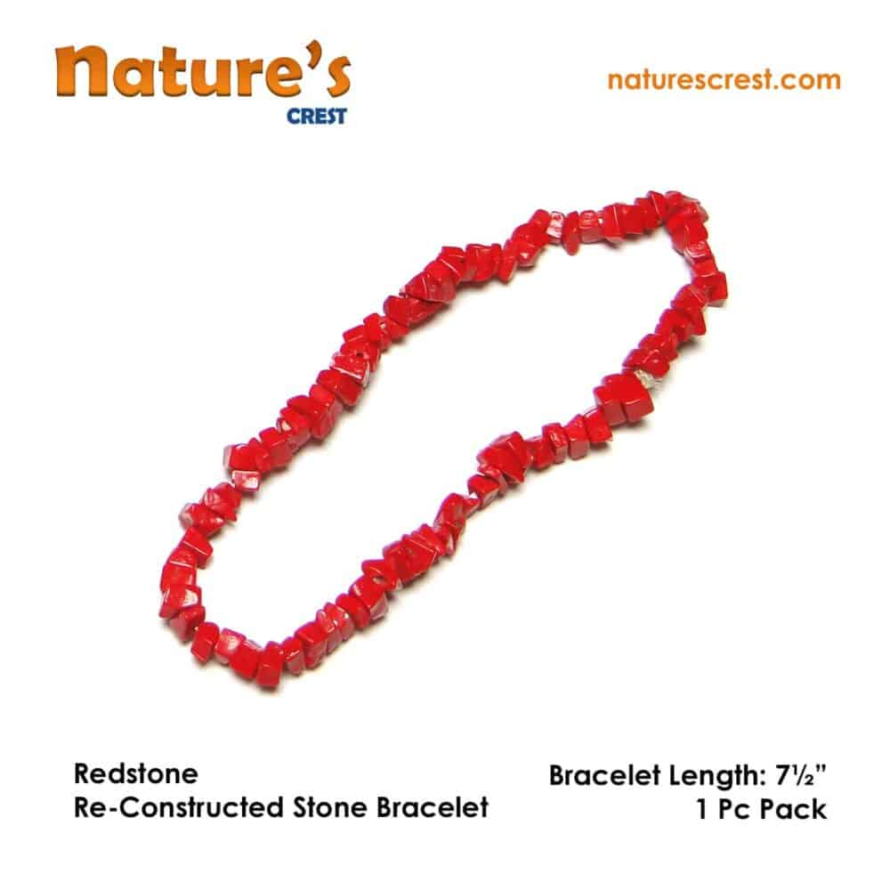 Redstone Re-Constructed Stone Chip Beads Nature's Crest TC041 ₹ 249.00
