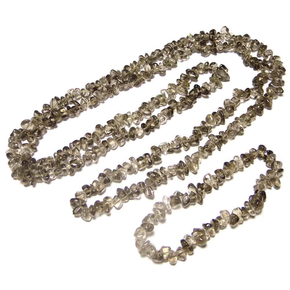 Smoky Quartz Chip Beads Nature's Crest TC043 ₹249.00