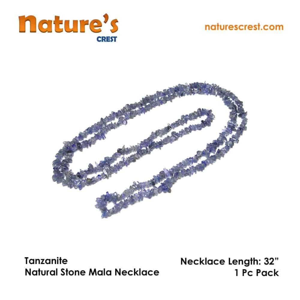Tanzanite Chip Beads Nature's Crest TC044 ₹899.00