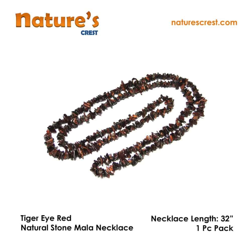 Tiger Eye Red Chip Beads Nature's Crest TC045 ₹ 249.00
