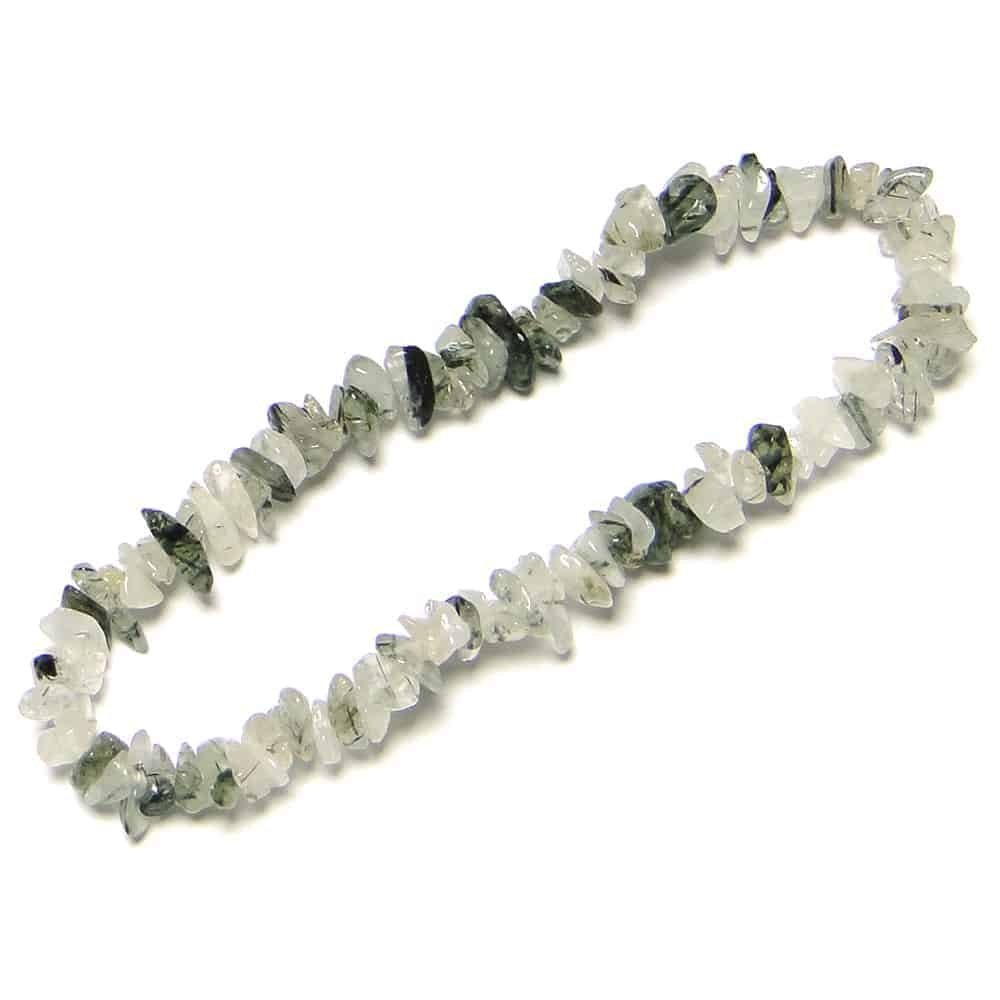 Tourmalinated Quartz Chip Beads Nature's Crest TC047 ₹ 299.00