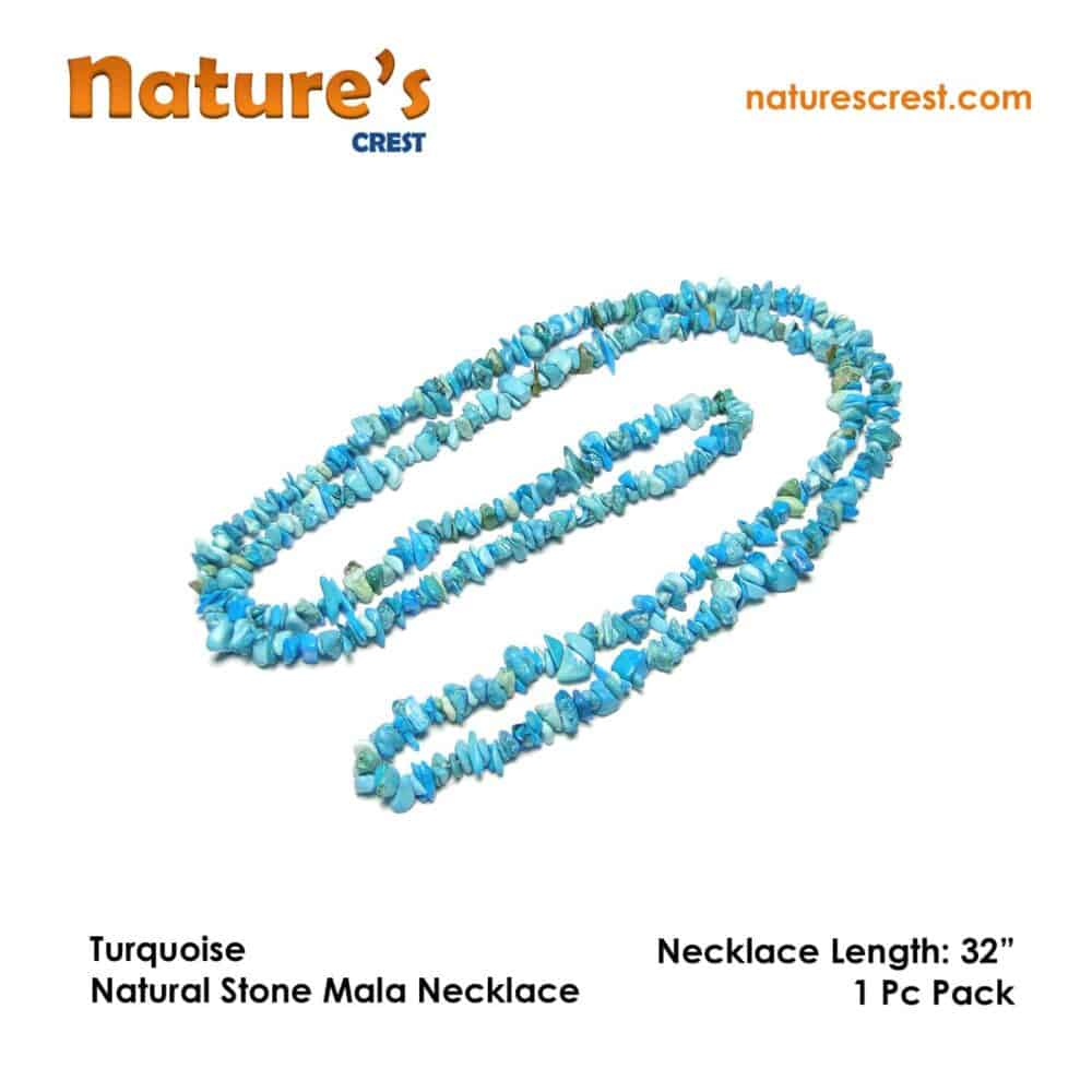 Turquoise Chip Beads Nature's Crest TC049 ₹399.00