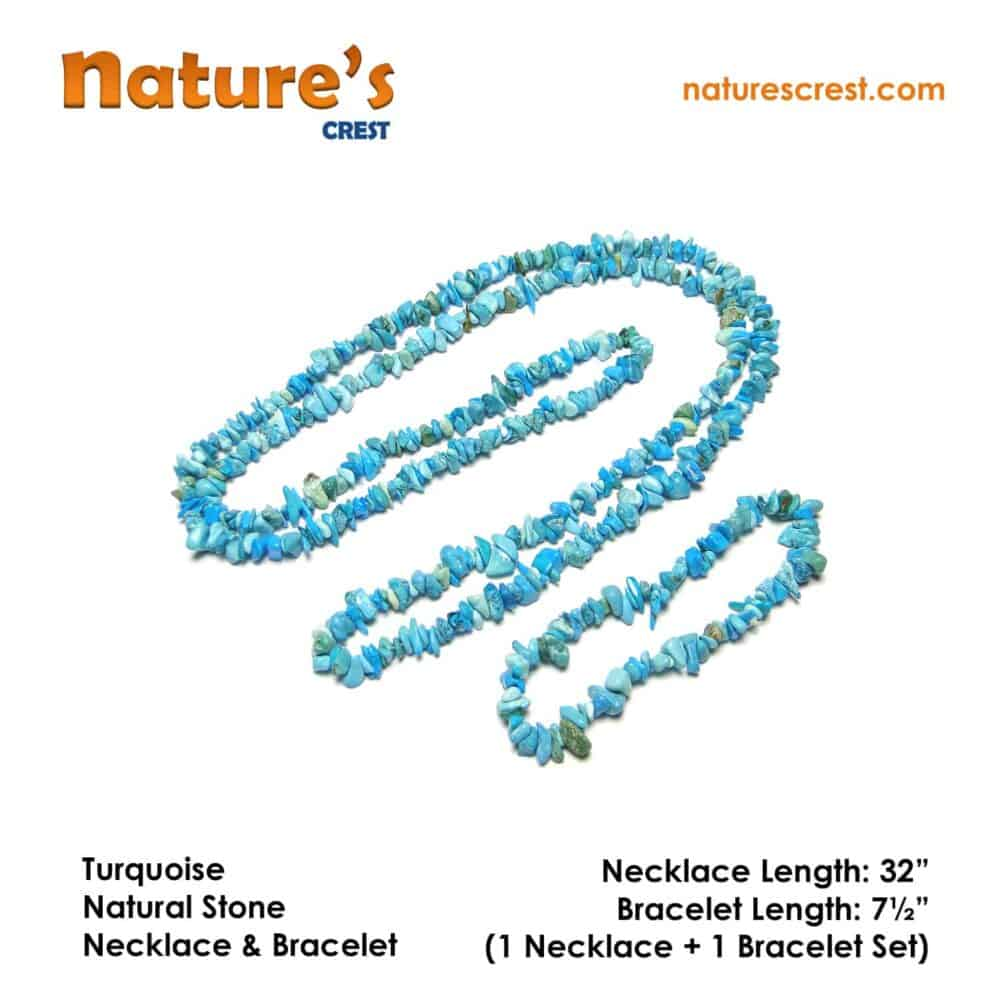 Turquoise Chip Beads Nature's Crest TC049 ₹ 399.00