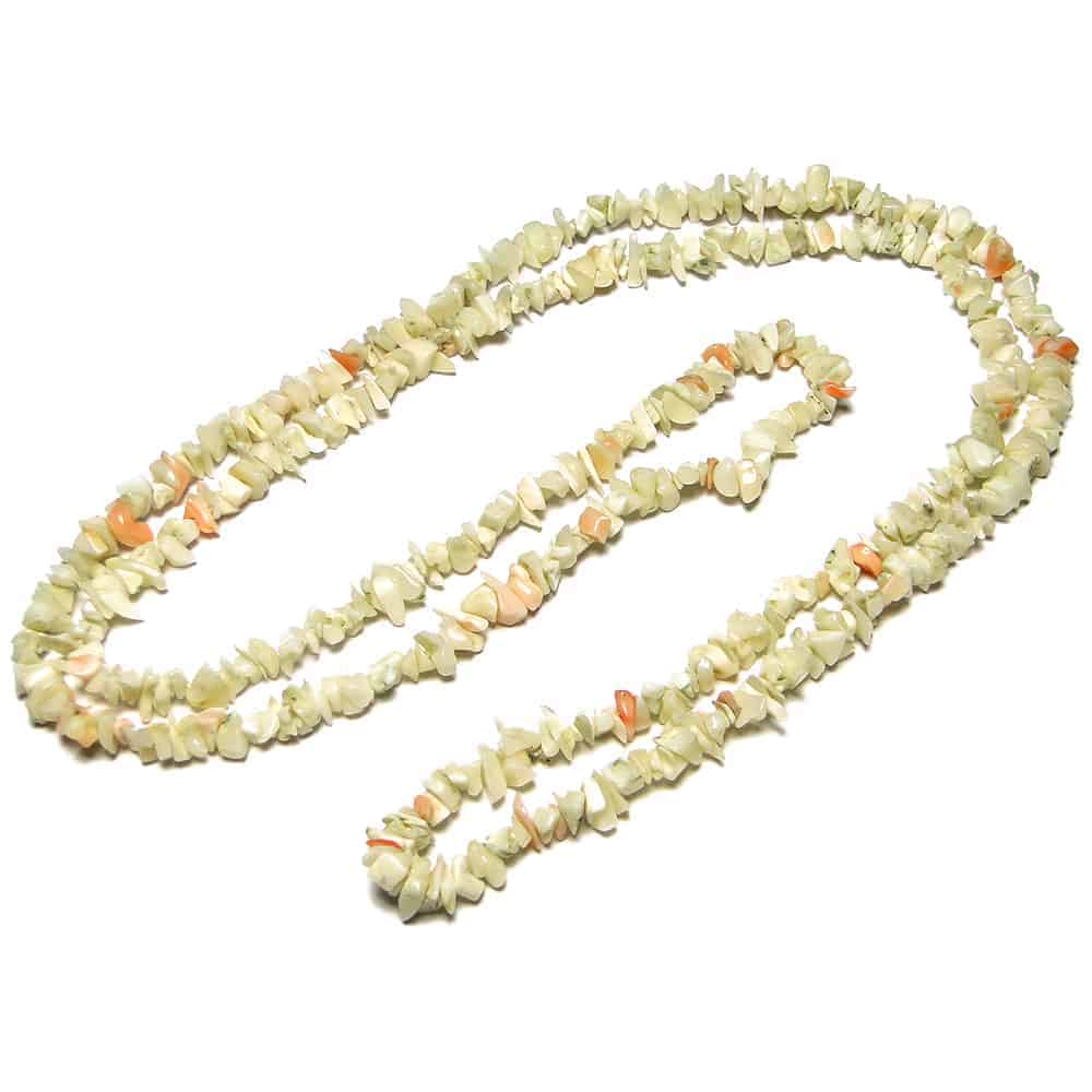White Coral Chip Beads Nature's Crest TC054 ₹399.00