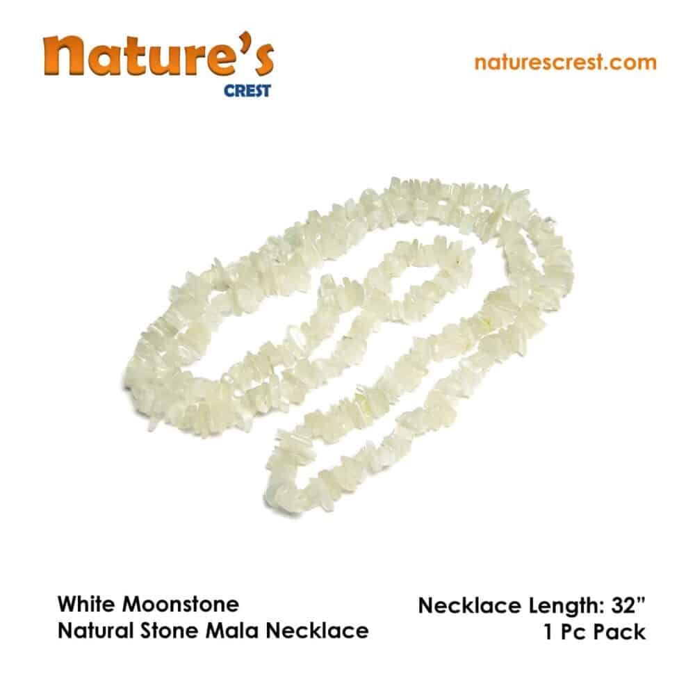White Moonstone Chip Beads Nature's Crest TC055 ₹ 249.00